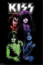 """KISS Monster Music Poster 22"""" x 34"""" Gene Simmons Paul Stanley Eric Singer Tommy"""