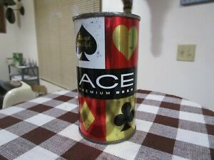 Tough ACE Premium 12 Oz FT Beer Can Sioux City Brewing Iowa 28/11