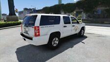 MATCHBOX POLICE CALIFORNIA HIGHWAY PATROL POLAR BEAR CHEVY SUBURBAN CUSTOM UNIT