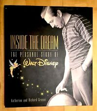 WALT DISNEY - INSIDE THE DREAM - 1ST - SIGNED BY DIANE DISNEY MILLER