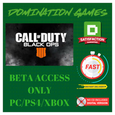 Call Of Duty Black Ops 4 Early Access BETA-INSTANT DELIVERY!