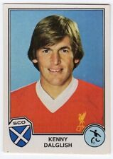 figurina SPORT SUPERSTARS EUROFOOTBALL 82 PANINI NEW numero 145 DALGLISH