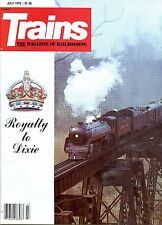 Trains Magazine July 1979 Royalty to Dixie