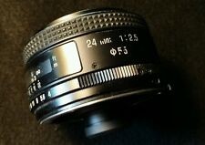 Tamron 24mm f2.5 Wide Angle Lens 01BB Adaptall Mount Type