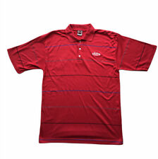Callaway Golf Men's Polo Shirt Red Size X Large 100% Cotton
