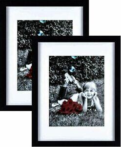 Tasse Verre 5x7inch Picture Frame - Black (12 Pack)