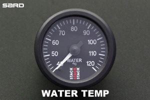STACK Water Temperature Gauge for SARD GT3 Toyota 86 & Subaru BRZ