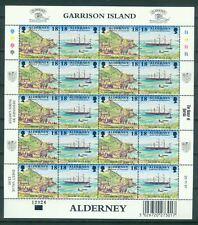 Großbritannien Alderney 108 - 115 Bogen mit 2 x 5 Zd = 10 Sätze