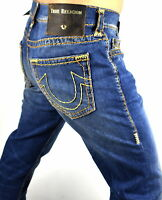 True Religion $329 Rocco Relaxed Skinny Super T Brand Jeans - 100426