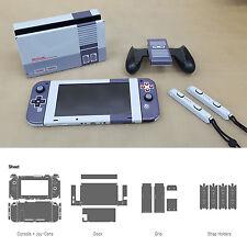 Skin Sticker For Nintendo Switch POP SKIN NES Edition Full Set + Free Gift