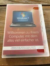 Windows 7 Pro, 64 bit , Holo DVD, DE, OEM Vollversion mit MwSt Rechnung