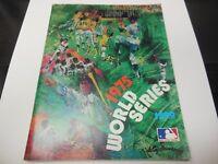 1975 MLB BASEBALL WORLD SERIES PROGRAM CINCINNATI REDS VS BOSTON RED SOX RARE