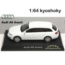 White Kyosho 1:64 AUDI A6 Avant Diecast Model Car Mint 1/64 2007 limited edition