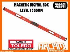 TOLEDO 322051 - MAGNETIC DIGITAL BOX LEVEL - 1200MM - ACCURATE ANGLE MEASUREMENT