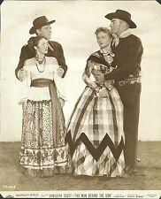 """RANDOLPH SCOTT & PATRICE WYMORE in """"The Man Behind the Gun"""" Original Vint. 1953"""