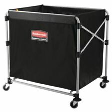More details for rubbermaid x-cart and bag for laundry - 300 ltr - 889(h) x 839(w) x 613(d) mm