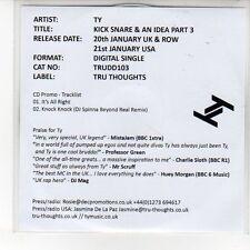 (EN918) TY, Kick Snare & An Idea Part 3 - 2013 DJ CD