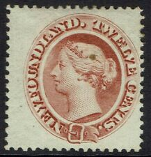 NEWFOUNDLAND 1865 QV 12C