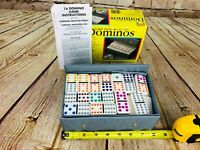 Vintage Domino By Pavilion  Multi-Colored Tiles Game Toy /w Manual crafts