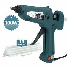 100W Glue Gun Hot Melt ElectricTrigger DIY Adhesive Crafts 10 Free Glue Sticks
