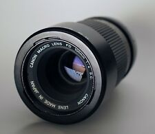 CANON FD 100mm f4 Macro Perfect Optics