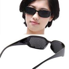 Black Eyesight Improvement Vision Care Exercise Eyewear Glasses CA