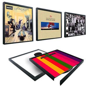 """Rahmen für Schallplatten 12"""" Vinyl Bilderrahmen Klick-Rahmen LP-Cover Wand NEU"""