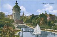 Ansichtskarte Mannheim Wasserturm (Nr.9124)