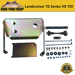 Dual Battery Tray Kit fits Toyota Landcruiser 70 76 78 79 Series 4.5L V8 TDI
