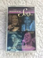 THE WOMEN OF SOUL (ARETHA FRANKLIN & OTHERS) Cassette Tape FUN MUSIC