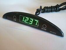 Battery Level Monitor DC 12V Over Low Voltage Alarm Motorcycle Cigarette Lighter