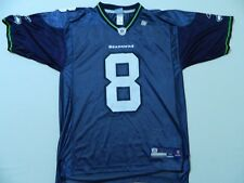M102 New Reebok Seattle Seahawks Matt Hasslebeck Men's blue Jersey M