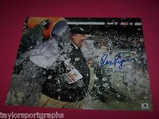 REX RYAN NEW YORK JETS Signed 11x14 NFL Football PHOTO GLOBAL CERTIFIED