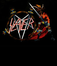 SLAYER cd cvr SHOW NO MERCY Official SHIRT XXL 2X new Nbp