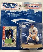 1997 Starting Lineup Baseball  RYNE SANDBERG Chicago Cubs 10th Year Anniversary