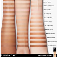 Givenchy Matissime Velvet Radiant Foundation SPF 20  1.0 oz CHOOSE SHADE NIB