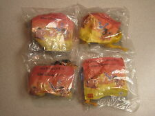 McDonalds 1994 Lion King Happy Meal Toys, Complete Set - ***  Foreign *** -  MIP