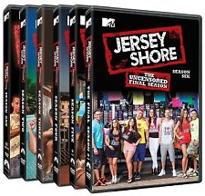 Jersey Shore . The Complete Series . Season 1 2 3 4 5 6 . MTV . 22 DVD . NEU OVP