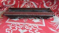 ancien wagon hornby meccano en tole plateau