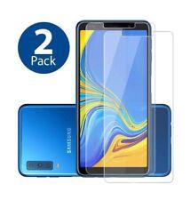 2x Samsung Galaxy A7 2018 9H  Echt Hart Glas Folie DisplayschutzGlas Neu
