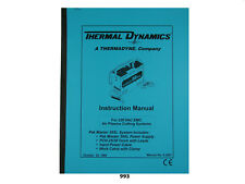 Thermal Dynamics PakMaster 38 XL Plasma Cutter 220V EMC Instruction #993