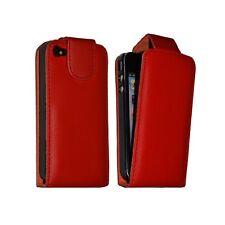 Housse étui coque pour Apple Iphone 4 couleur rouge + film protecteur ecran