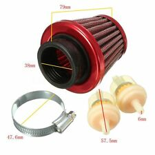 38mm Air & Fuel Filter 50 90 110 125cc Pit Dirt Bike Quad ATV GY6 Moped Scooter