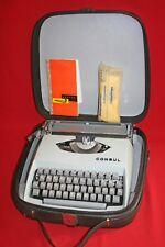 Vintage Reiseschreibmaschine Consul 231.2 Schreibmaschine Typewriter 60s 60er 2s