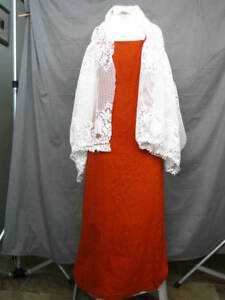 Victorian Dress Women's Edwardian Costume Civil War 3 Piece