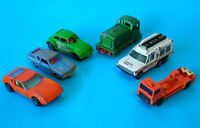 TOMICA SUNNY & 5 MATCHBOX Superfast Models Nos 8, 3, 43, 11, 57, 24 ~ POOR COND