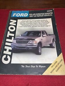 Chilton Repair Manual 1997-2000 Ford Pickup Expedition Navi Wiring Diagrams