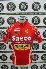 maglia body ciclismo bike shirt maillot camiseta SAECO TG M G683