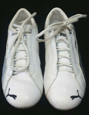 Men's PUMA Cell size 9 White Gray - Puma Sport Lifestyle running shoes leather