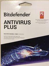 New! Bitdefender Internet Security + Antivirus Plus 2018  3 Devices 1 Year!